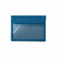 [5360 FLATTY] KING JIM navy multipurpose storage bag (A6)