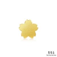 (點睛品)Sakura gold earrings (single)