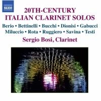 Sergio ‧ Hieronymus Bosch (clarinet) / Twentieth Century Italian clarinet solo music CD