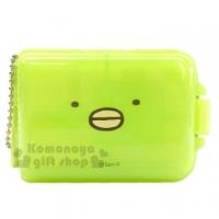 "[Chapel] corner of the square Penguin bio plastic Qige portable glove box ""green"" kit. Storage Box"