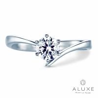 [ALUXE Li Ya poetry] 0.30 kt diamond wedding ring diamond classic single