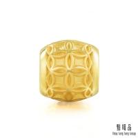 (點睛品)Dot Charme Culture Blessing Copper Money Transfer Beads Gold Beads