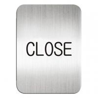 "(deflect-o)Dido Deflect-o high texture aluminum square OEM - English ""closed"" (store) instructions # 611210S"
