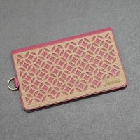 jarraa woodcarving style phone back paste clip Jade pink