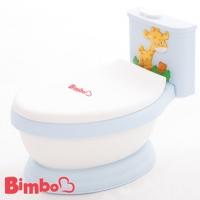 (BIMBO)[BIMBO] Patented Children & Music Toilet Made in Taiwan - Light Blue