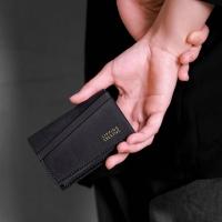 (SIPPING CREAITVE)Business card holder _ minimal black