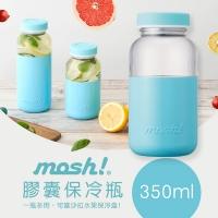 (MOSH!)Japanese mosh! capsule cold bottle 350ml (sky blue)