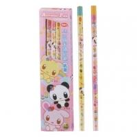 Li Baidai LIBERTY cute family triangle coated pencil / CB-129-P/HB/12 / powder box