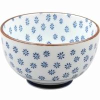 Tokyo Design Porcelain Bowl (flowers 13cm)