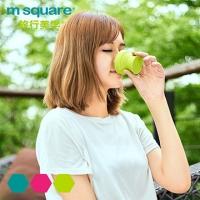 (m square)m square Folding Silicone Bowl S-Green