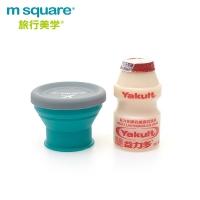 (m square)m square Folding Silicone Bowl S-Blue