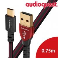 (audioquest)American line Saint Audioquest USB-Digital Audio CINNAMON transmission line 0.75M (A?C)