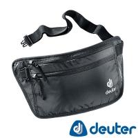 (Deuter)[Germany deuter] SECURITY MONEY BELT hidden pockets (3910316 black / safe lightweight close-family / casual travel anti-theft / ID passport pa