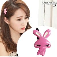(Angel Rena)[Angel Rena] Korean system ? ? ? long rabbit does not bite hair clips - pink
