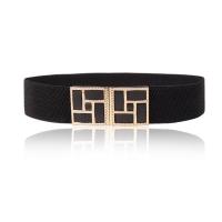 Fox Ji, gold frame wide waist belt belt (single waist seal)