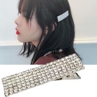 (Charme)Charme Korean popular super flash dance drainage drill duckbill clip silver (small)
