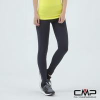 (CMP)[CMP] Italian professional breathable wicking jogging tights - Female (dark blue)
