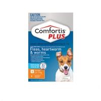 Comfortis Plus 6 Chewable Tablets For Dog 4.6-9kg (Orange)