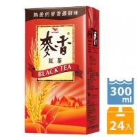 《統一》麥香紅茶 300ml(24入/箱)