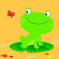 (YoYo Books)Bath Buddies:Frog 洗澡書(外文書)