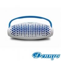 (Dennys)[Dennys] USB / SD Bluetooth portable stereo (BL-06S) - White Blue