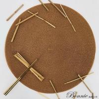 (BONNIE)[BONNIE Knitting Workshop] Jungle Feast Placemat 2 into the group (38X38CM)-Gold Mine
