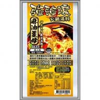 (JI SUN)JI SUN sesame oil and ginger hot pot soup base 4 servings (vegetarian)