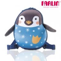 [TAITRA] Made in Taiwan [Farlin] Sina & Mina 3D Cute Animal Modeling Child Backpack - Snowflake Penguin