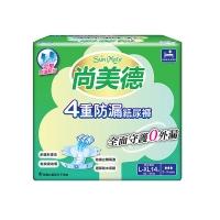 (尚美德)ShangMeide 4-fold leak-proof adult diapers L-XL size 14 pieces x6 pack-box