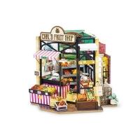 (Robotime)Corner Shop Art House-Carl's Fruit Shop