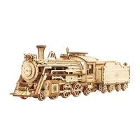 (Robotime)Golden Age-1:80 Steam Express