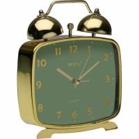 VERSA 復古桌面鬧鐘(綠金)