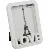 VERSA Love Simple Photo Frame (White 5x7 inch)