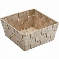 VERSA 方形編織收納籃(米19cm)