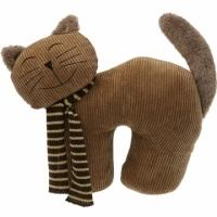 VERSA 動物造型門擋(棕微笑貓)