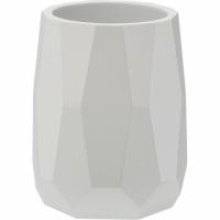 VERSA 幾何牙刷杯(白)