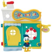 (segatoys)Disney DIY Dream City Donald Duck Burger Shop (SEGA TOYS)