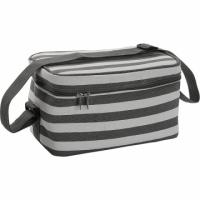(VERSA)VERSA shoulder cold storage bag (gray stripe 9L)