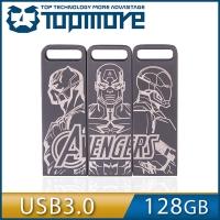 達墨TOPMORE 漫威系列ZXM 創意三拼款3入組 128GB USB3.0