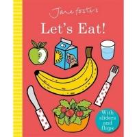 (Templar Publishing)Jane Foster's Let's Eat! 操作書(外文書)