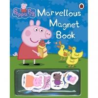 (LadyBird Books)Peppa Pig:Marvellous Magnet Book 佩佩豬的神奇磁鐡書(外文書)