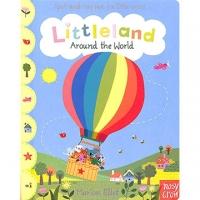(Nosy Crow)Littleland Around The World 小小王國-環遊世界 單字學習書(英國版)(外文書)