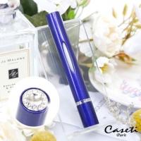 【Caseti】Dark Blue Travel Perfume Bottle Perfume Carrying Bottle Perfume Distributed Bottle Capacity 3.1ml