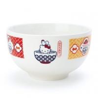 小禮堂 Hello Kitty 陶瓷碗公《白紅》飯碗.湯碗.丼飯碗.異國廚房