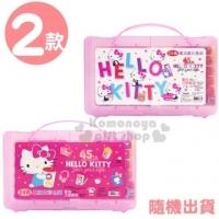 小禮堂 Hello Kitty 盒裝24色果凍彩色筆組《2款隨機.粉/桃》塗鴉筆.彩繪筆