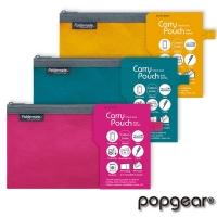 (foldermate)[Fumite] 840 linen cotton single-layer zipper bag-Check