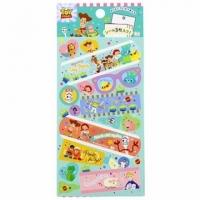 Small Auditorium Disney Toy Story Japanese-made Sticker Decorative Sticker Adhesive Supplies Card Decoration (Green Q Version)