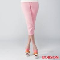 (BOBSON)[BOBSON] female models diamond embroidery Pants (powder 212-10)