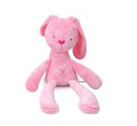 M-New toy comfort plush toy baby toy rabbit plush doll pink
