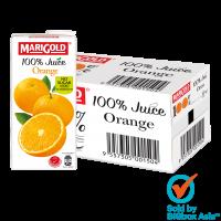 Marigold 100% No Sugar Added Juice 1L - Orange